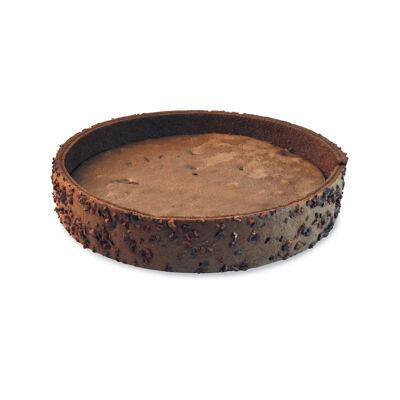 Kits biscuit cacao inclusions grué et pépites de chocolat 220 mm (Hafner)