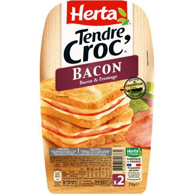 Herta croque-monsieur bacon x2 -210g (Herta)
