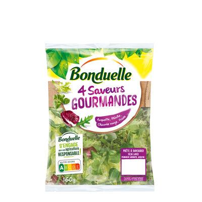 4 saveurs gourmandes (Bonduelle)