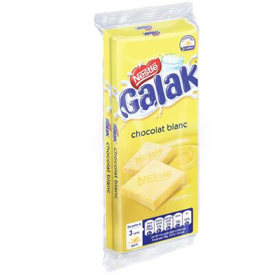 Galak chocolat blanc tablette 2 x 100g (Galak)