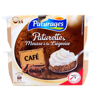 Dessert lacté au café (Paturages)