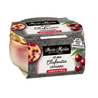 Clafoutis cerises griottes 130g (Marie morin)