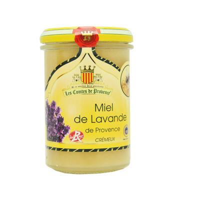 Miel de lavande de provence label rouge crémeux 250g (Les comtes de provence)