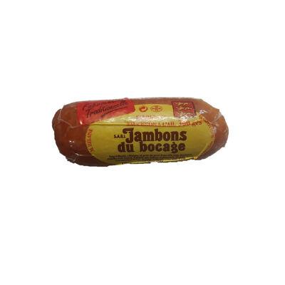 Saucisson à l'ail fume 300 g (Jambons du bocage)