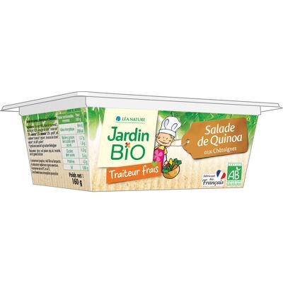 Salade de quinoa aux châtaignes 160 gr jardin bio (Jardin bio)
