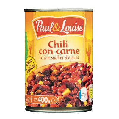 Paul & louise chili con carne 400g (Paul & louise)