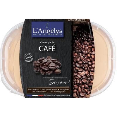 Crème glacée café 450g/750ml (L'angélys)