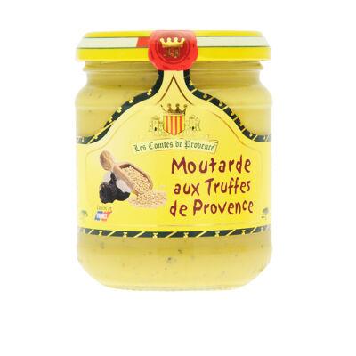 Moutarde aux truffes de provence 230g (Les comtes de provence)