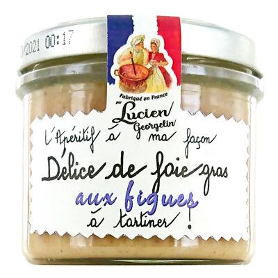 Preparation de foie gras aux figues 100g lg (Les recettes cuites au chaudron)