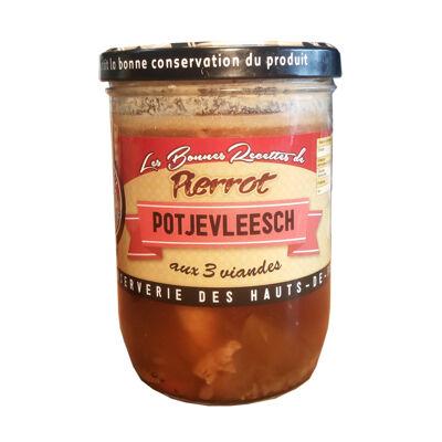 Potjevleesch 3 viandes 750g les bonnes recettes de pierrot (Les bonnes recettes de pierrot)
