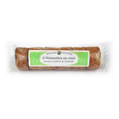 Nonnettes fourrées mirabelle x 6 (Les ruchers de bourgogne)