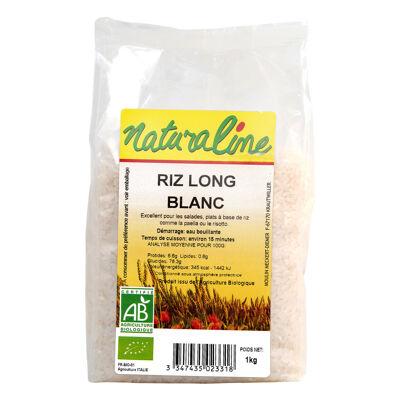 Riz long blanc bio 1 kg (Naturaline)