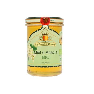 Miel d'acacia bio liquide 250g (Les comtes de provence)