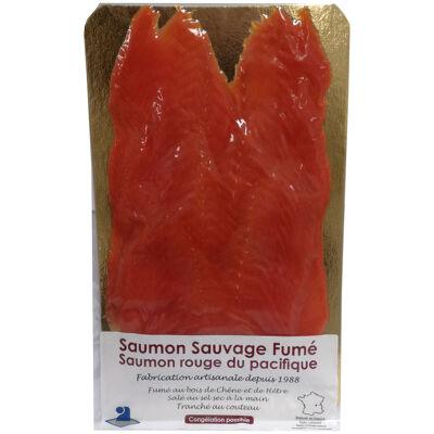 Saumon sauvage rouge du pacifique fumé 240g - 6 tranches (Le petit fumet en rhône-alpes)