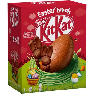 Kitkat œuf géant et ses mini lapins 238g (Nestle)
