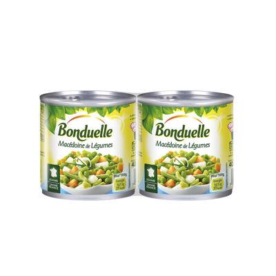 Macédoine de légumes (Bonduelle)