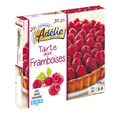 Tarte framboises - pâtisserie surgelée (Adelie)