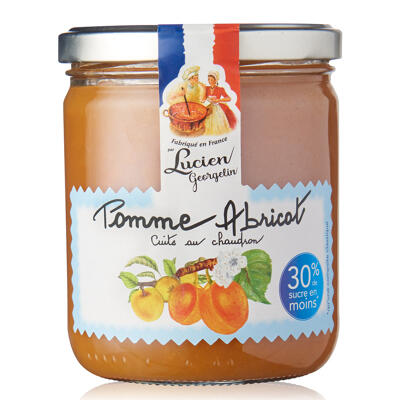 Compote gourmande & legere - pomme abricot 390g les rec. au chaudron (Les recettes cuites au chaudron)
