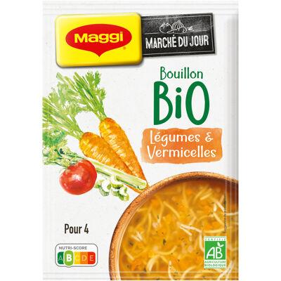 Maggi bio soupe bouillon de légumes 60g (Maggi)