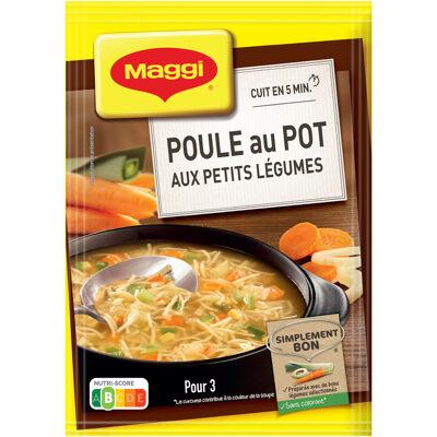 Maggi saveur à l'ancienne poule au pot aux petits légumes 58g (Maggi)