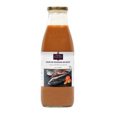 Soupe de poissons de roche recette méditerranéenne monoprix (Monoprix)