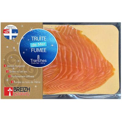 Truite de mer fumee - 8 tranches - 300g - breizh saveurs (Breizh saveurs)
