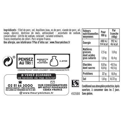 4 tr. rôti de porc extra tendre (Fleury michon)