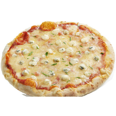 Pizza biologique 3 fromages 350g cuite au feu de bois sole mio (Solemio)