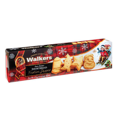 Festives shapes 125g - walkers - 125g (Walkers)