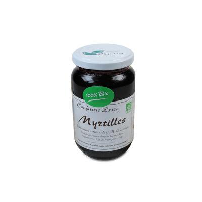 Confiture extra bio myrtilles (Jm chatelain)