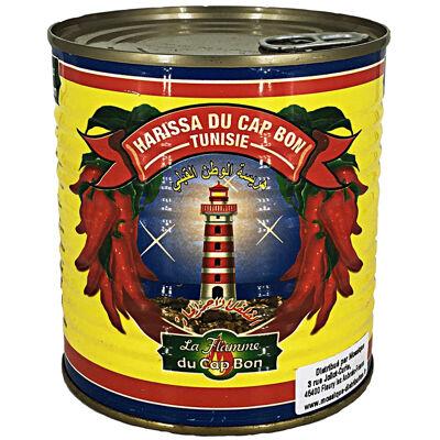 Harissa conserve 4/4 760g du cap bon la flamme du cap bon (La flamme du cap bon)