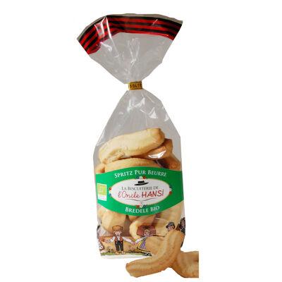 Spritz pur beurre bio 200g (Biscuiterie hansi)