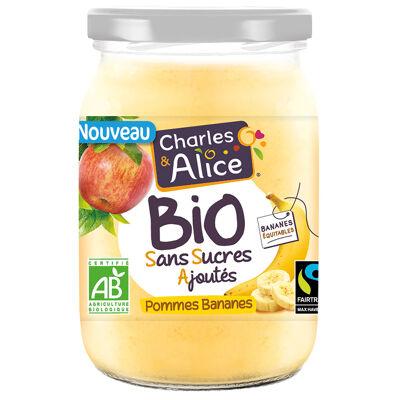 C&a bio ssa bocal p/bananes 625g (Charles & alice)