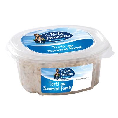 Torti au saumon fumé 300g (La belle henriette)