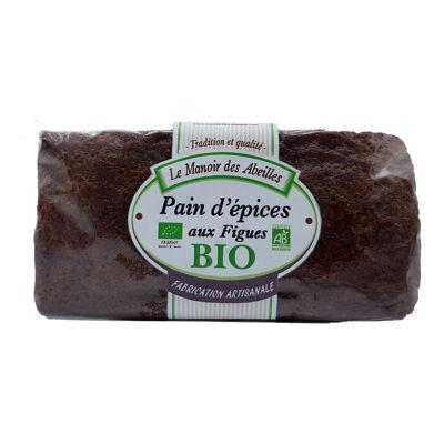 Pain d'épices aux figues bio 250g (Le manoir des abeilles)