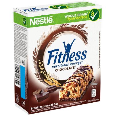 Fitness barres de céréales chocolat 6 x 23,5g (Nestle)