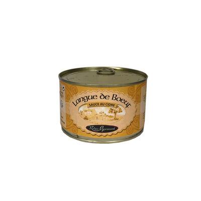 Langue de boeuf sauce cidre 1/2 (Stephan)