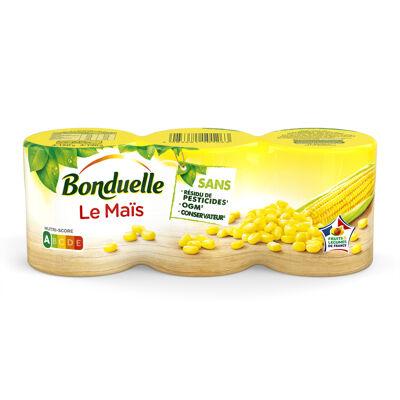 Maïs sans résidu de pesticides (Bonduelle)