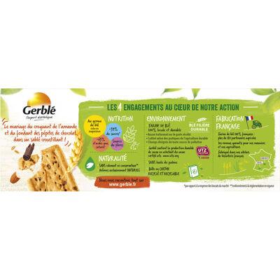Biscuits choco amande 200g (Gerblé)