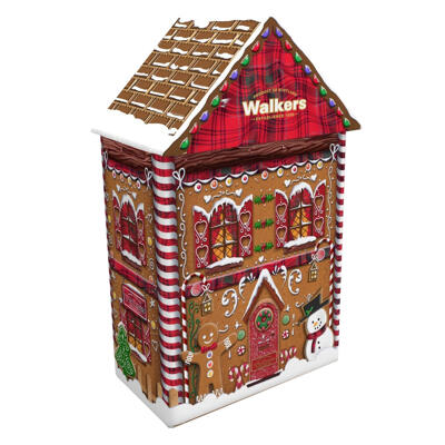 Gingerbread house tin 200g - walkers - 200g (Walkers)