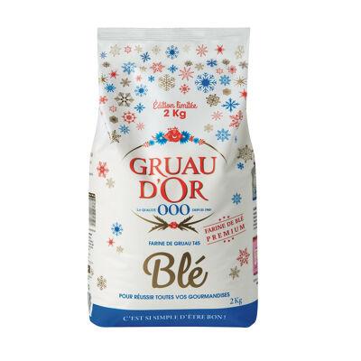 Farine gruau d'or blé 2 kg (Gruau d'or)