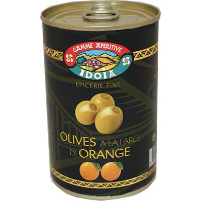Olives à la farce d'orange idoia boîte 120 g (Idoia)
