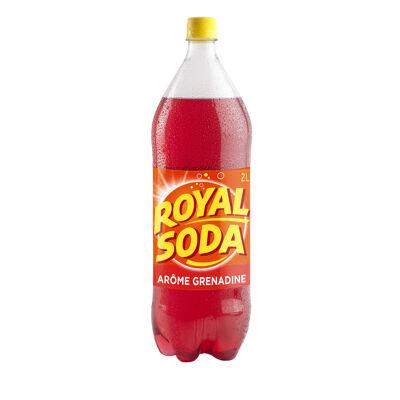 Royal soda grenadine 2l mq pet (Royal soda)