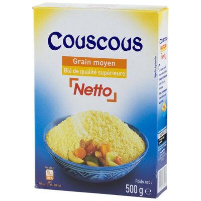 Netto couscous moyen étui 500 gr (Netto)