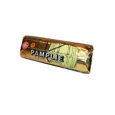 Beurre doux pasteurisé aop pamplie-rouleau 500g (Pamplie)