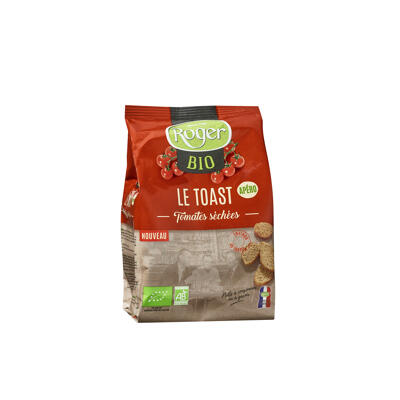 Le toast bio tomates sechees (Les biscottes roger)