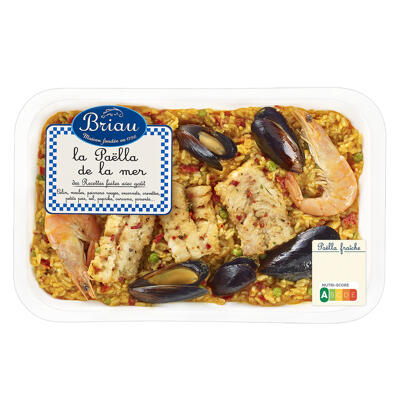 Paella de la mer 800g x6 (Maison briau)