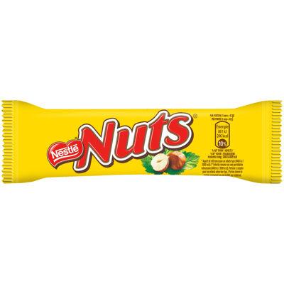 Nuts barre chocolatée 42g (Nuts)