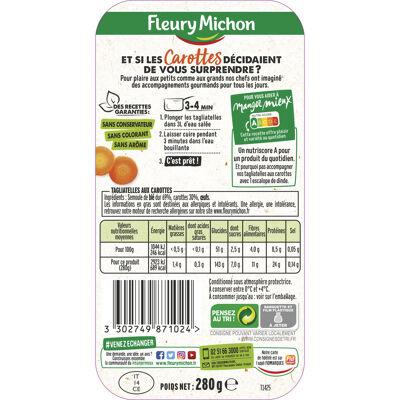 Lot 2 le 2ème à -50% (tagliatelles aux carottes) (Fleury michon)