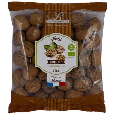 Noix coques bio sachet de 375g (Biosource)